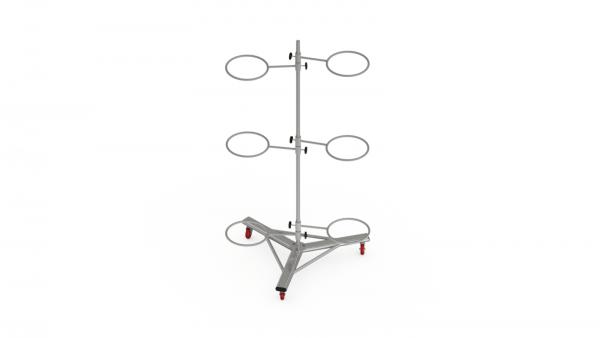 6 gym ball rack render - Origin 6 Gym Ball Rack