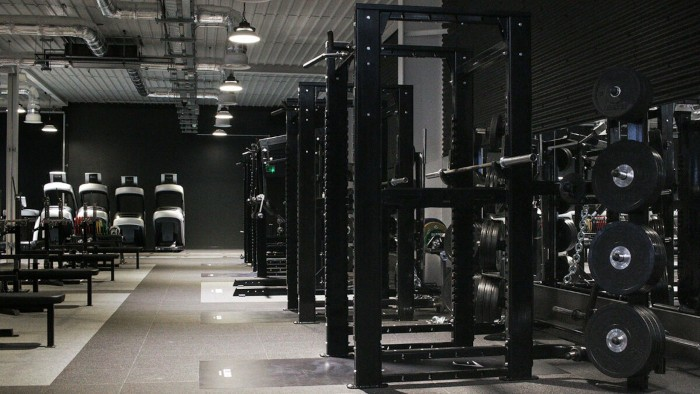 an exercise room in the gymshark lifting club