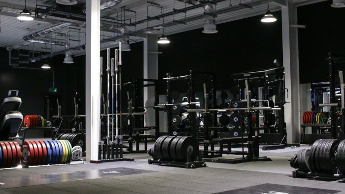 origin fitness and gym shark weight lifting area