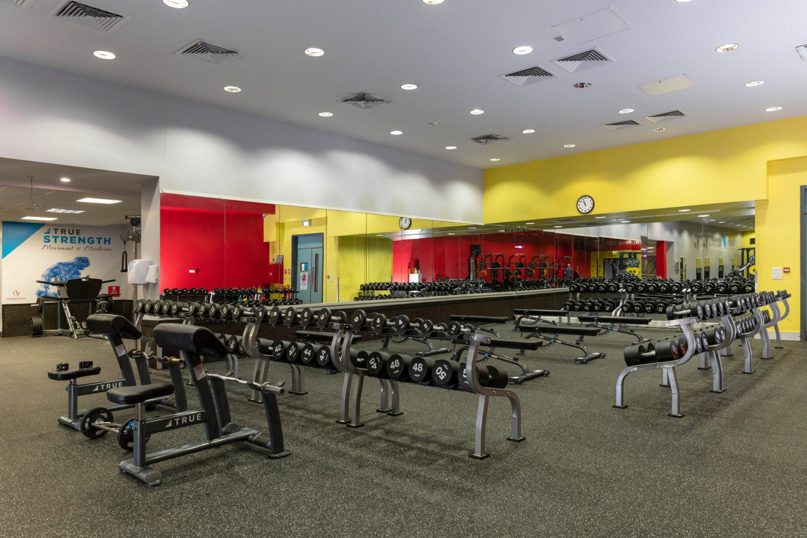 a weight area in the mardyke arena