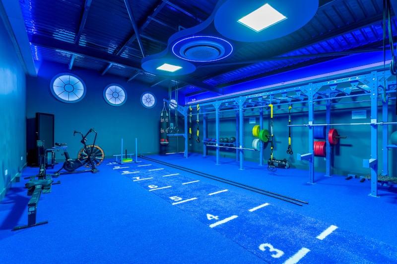 weght training area in west wood sandymount